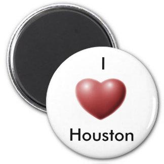 I Love Houston Refrigerator Magnets