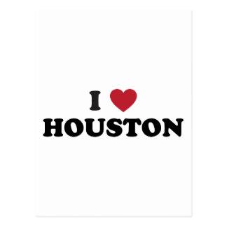 I Love Houston Texas Postcard