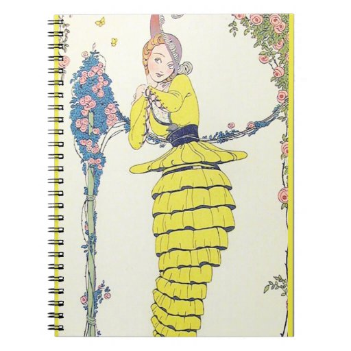 I Love How the Skirts Twirls Spiral Notebook