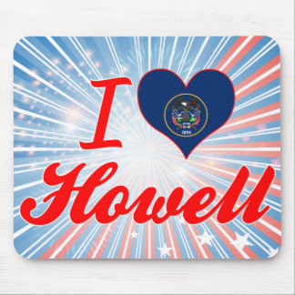 I Love Howell, Utah Mouse Pad