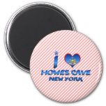 I love Howes Cave, New York Magnets