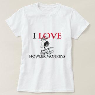 I Love Howler Monkeys Tees