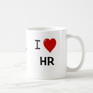 I Love HR and HR Loves Me HR Lovers Mug