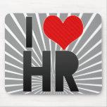 I Love HR Mousepad