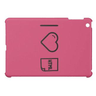 I Love Htmls Case For The iPad Mini