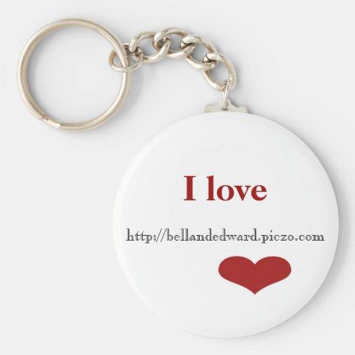 I love http://bellandedward.piczo.com Keychain