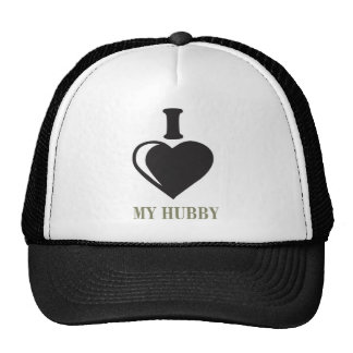 i LOVE HUBBY Trucker Hat