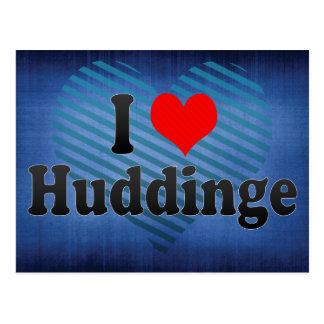 I Love Huddinge, Sweden Postcard