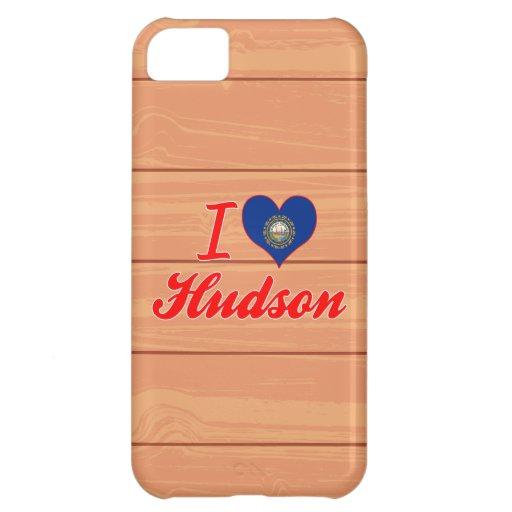 I Love Hudson, New Hampshire iPhone 5C Cases