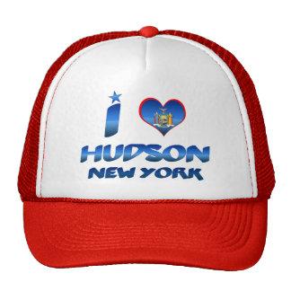 I love Hudson, New York Mesh Hat