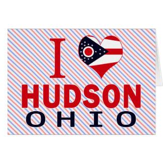 I love Hudson, Ohio Card