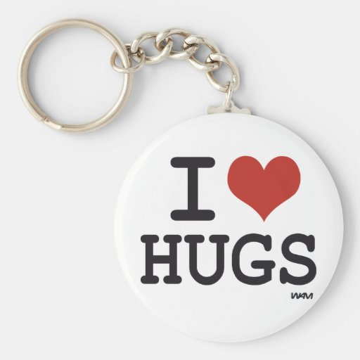 I love hugs keychains