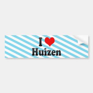 I Love Huizen, Netherlands Bumper Sticker