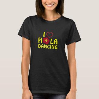 I Love Hula Custom For Yamamoto Hula Ohana T-Shirt