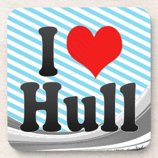 I Love Hull, United Kingdom Drink Coaster