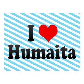 I Love Humaita, Brazil Postcard