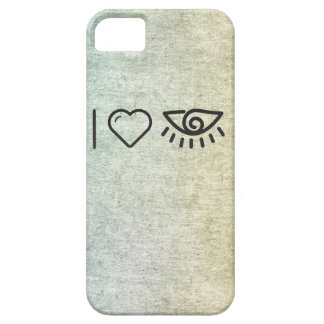 I Love Human Eyes iPhone 5 Cover
