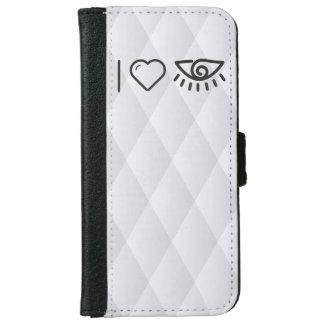 I Love Human Eyes iPhone 6 Wallet Case