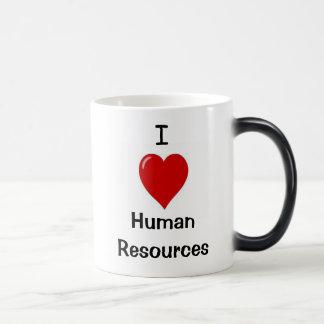 I Love Human Resources - Double sided 11 Oz Magic Heat Color-Changing Coffee Mug