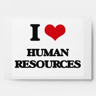 I love Human Resources Envelopes