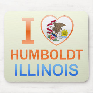 I Love Humboldt, IL Mouse Pads