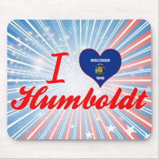 I Love Humboldt, Wisconsin Mousepad