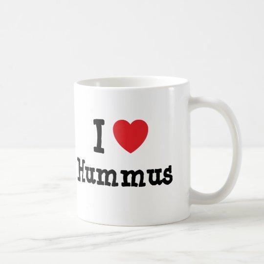 I love Hummus heart T-Shirt Coffee Mug