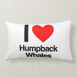 i love humpback whales throw pillow