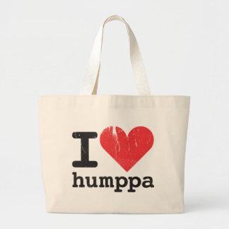 I love Humppa Jumbo Tote Bag