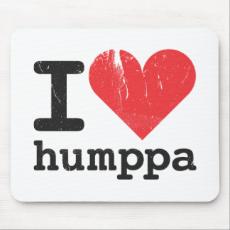 I love Humppa Mousepad