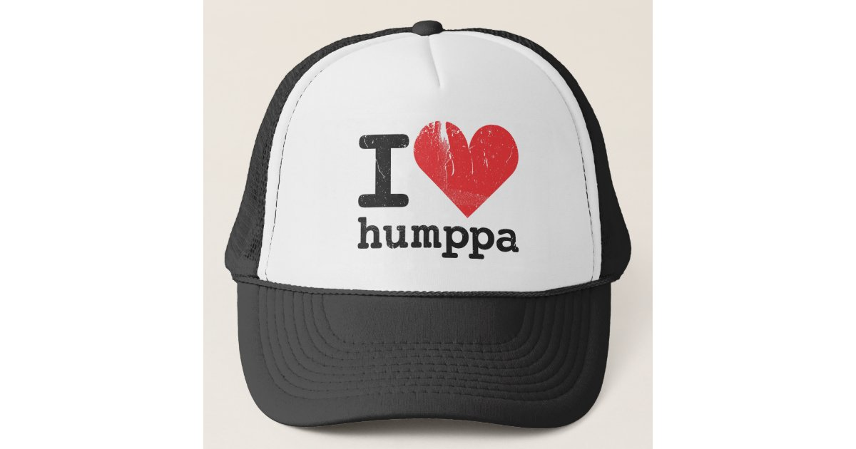 2d7ad4287aa I love Humppa Trucker Hat