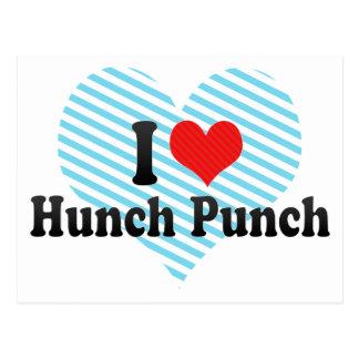 I Love Hunch Punch Postcard