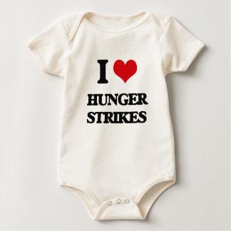 I love Hunger Strikes Baby Bodysuit