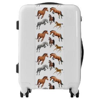 I Love Hunter Jumper Horses Travel Luggage