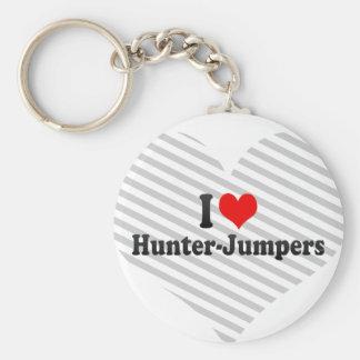 I love Hunter-Jumpers Key Chain
