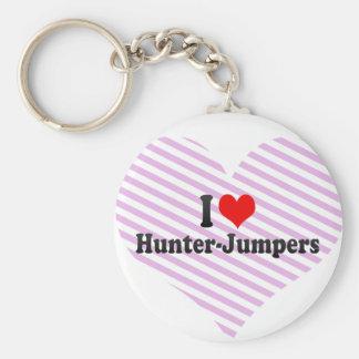 I love Hunter-Jumpers Keychain