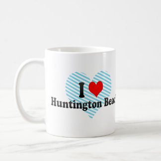 I Love Huntington Beach, United States Coffee Mug