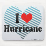 I Love Hurricane Mousepads