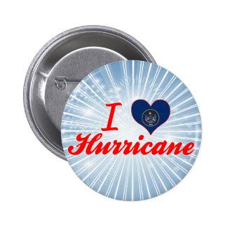 I Love Hurricane, Utah Pinback Buttons