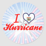 I Love Hurricane, West Virginia Sticker