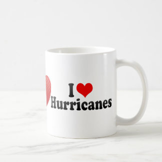 I Love Hurricanes Classic White Coffee Mug