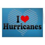 I Love Hurricanes Greeting Card