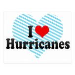 I Love Hurricanes Postcard