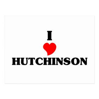 I love Hutchinson Postcard