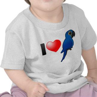 I Love Hyacinth Macaws Tshirts