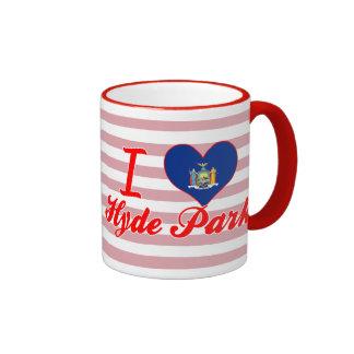 I Love Hyde Park New York Coffee Mug
