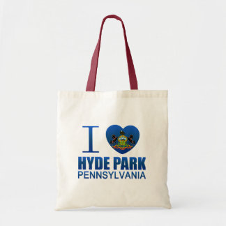 I Love Hyde Park PA Tote Bag