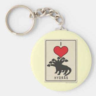 I Love Hydras Key Chain