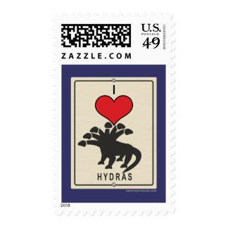 I Love Hydras Stamp
