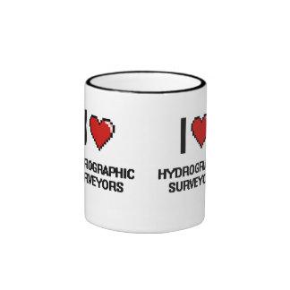 I love Hydrographic Surveyors Ringer Mug